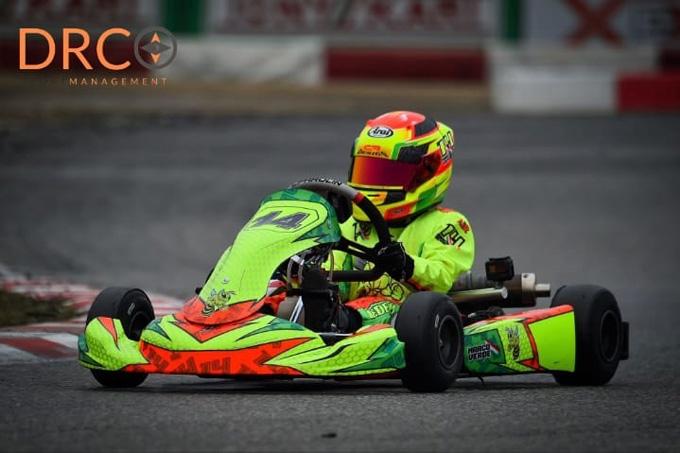 Il piccolo fulmine Marco Verde debutta nel Campionato Regionale Aci di Kart nella categoria Mini Under 10