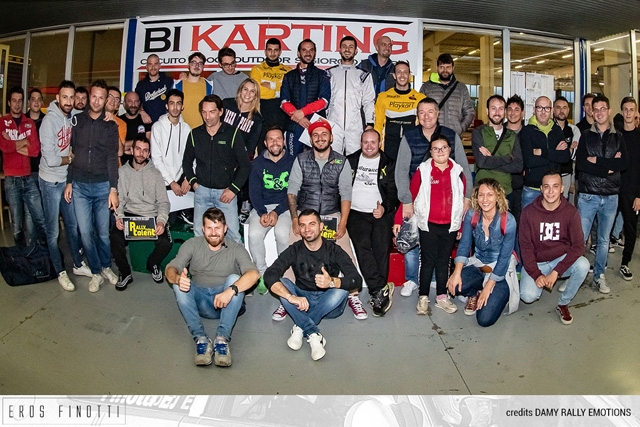 RALLYSTI IN KART, SUCCESSO CON RALLY ITALIA TALENT