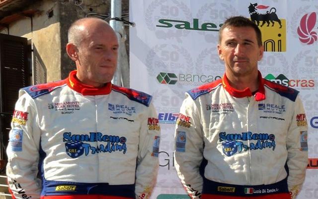 Da Zanche entusiasma sul podio del Rally dell'Elba