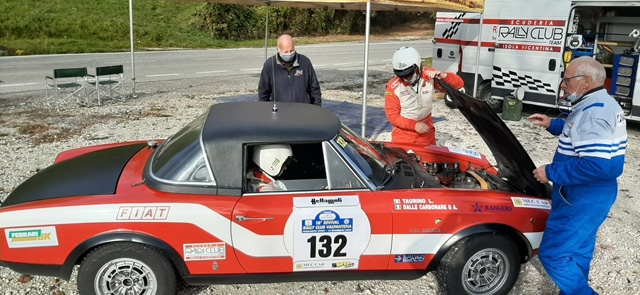 REVIVAL VALPANTENA SFORTUNATO PER IL RALLY CLUB TEAM ISOLA VICENTINA