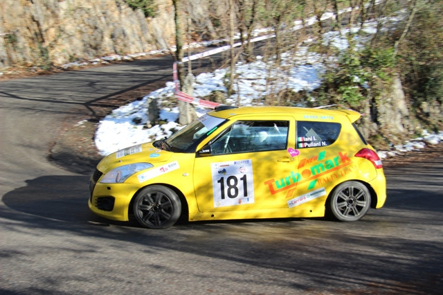 IANI-PULIANI: DUE OSSOLANI AL VIA DEL CAMPIONATO ITALIANO RALLY