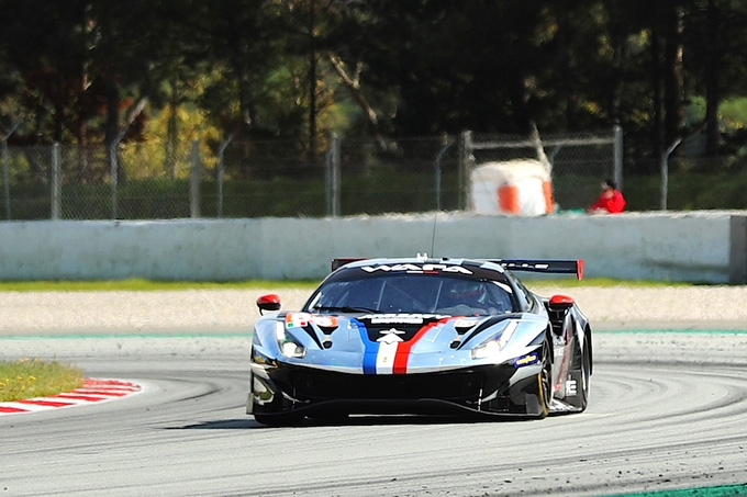 Rovera in gara su Ferrari alla 4 Ore del Red Bull Ring in ELMS