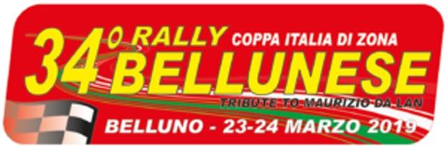 34°RALLY BELLUNESE GLI ORARI DI CHIUSURA DELLE STRADE