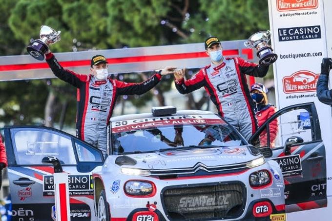 C3RALLY2FAMILY DOMINA LA CATEGORIA WRC3 AD INIZIO DELLA STAGIONE WRC al Rally MONTE-CARLO