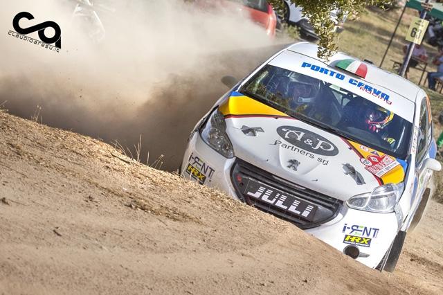 Nel Rally Italia Sardegna la Porto Cervo Racing brilla con Liceri-Mendola.