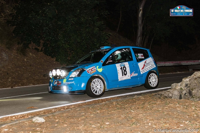 Super Nebrosport al 16° Rally del Tirreno
