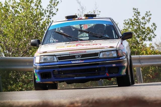 Riolo-Floris Su Subaru Legacy al XXXII Rallye Elba Storico