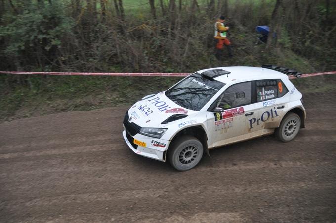 Alessio Profeta, navigato da Sergio Raccuia, è campione italiano rally under 25