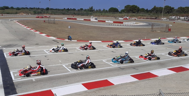 Via alle sfide decisive del Tricolore karting
