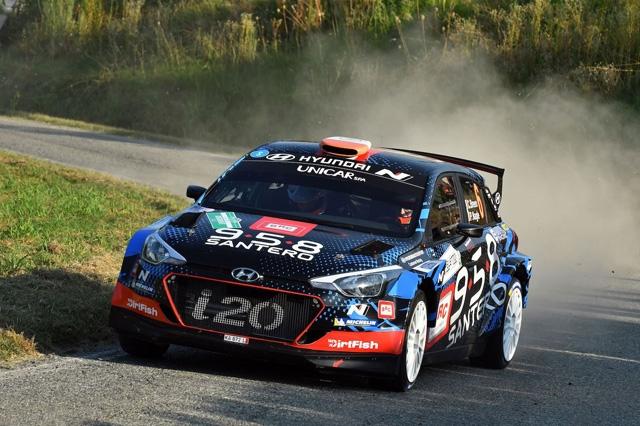 14° Rally di Alba: vittoria di Breen-Nagle (Hyundai i20 R5) la gara  #RAplus a Neuville-Gilsoul (Hyundai i20 WRC)