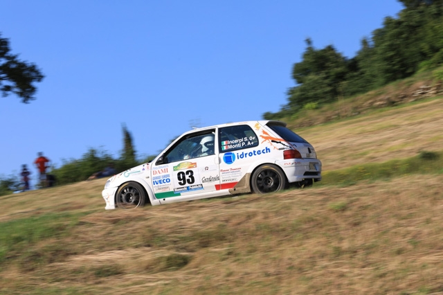 LA RIPARTENZA DEI RALLY SORRIDE A JOLLY RACING TEAM: OTTIMI SPUNTI DAL RALLY CASENTINO