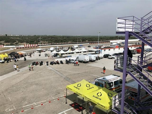 Rinviato l'allenamento per Rinaldi e Pirro al Levante Circuit