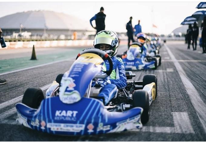 BUON AVVIO DI STAGIONE PER IL TEAM DRIVER NELLA WSK CHAMPIONS CUP.