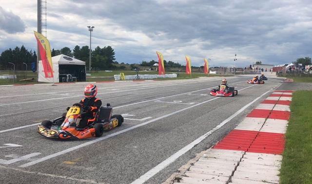 Cutaia e David in evidenza nel Karting a Melilli