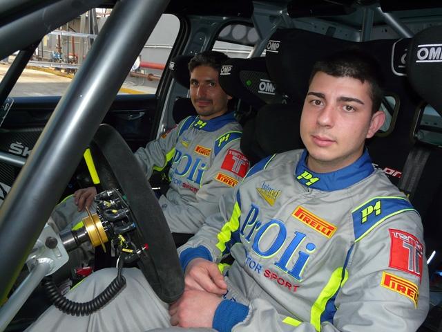 Il palermitano Alessio Profeta nel Campionato Italiano Rally 2019 con la Skoda R5