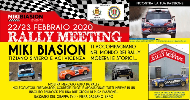 RALLY MEETING: UN WEEKEND DI PASSIONE