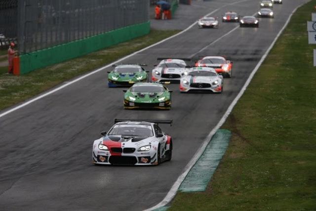 Gran Turismo italiano: BMW sul podio del Monza Eni Circuit, la Ferrari di Villeneuve-Fisichella-Gai ai box per un guasto elettrico