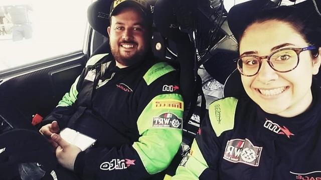 Luca Santoro e Carmen Grandi dal Rally di Pico la stagione 2020