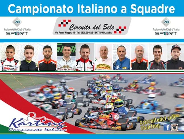 La Sicilia del kart pronta allo start a Battipaglia