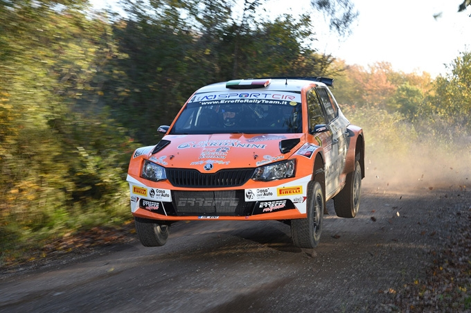 ERREFFE RALLY TEAM-BARDAHL: SCATTOLON SFIORA LA TOP TEN AL TUSCAN