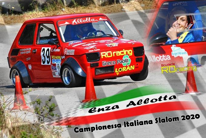 Enza Allotta si impone tra le dame del Campionato italiano slalom