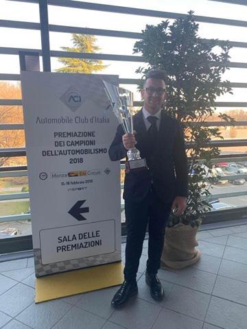 Il Fasanese Nicola Annese premiato al Monza Eni Circuit