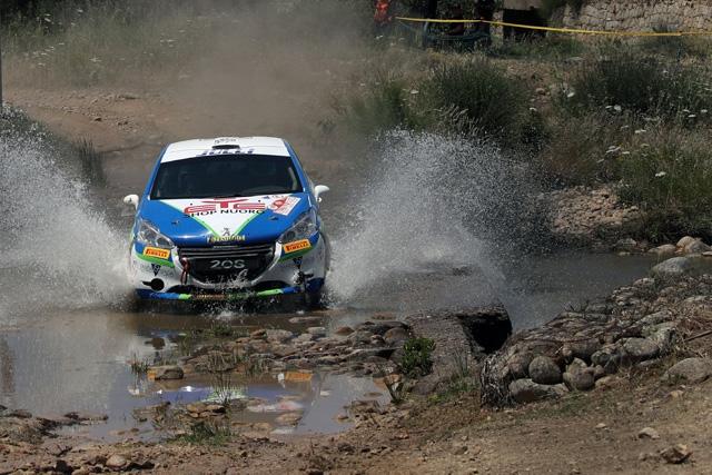 Si chiude con la disputa del Tuscan Rewind Il Campionato Italiano Rally Terra del nuorese Andrea Gallu.