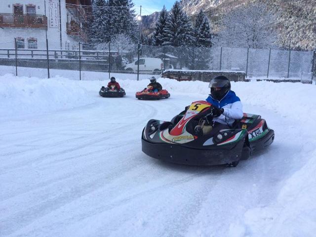 Endurance di fine anno con i kart su ghiaccio a Fiavè