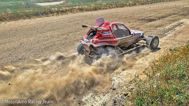Autocross a Latina, ritorno alle origini