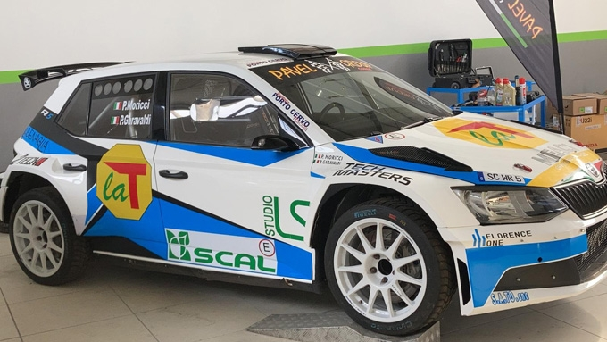 La Porto Cervo Racing all'ACI Rally Monza.