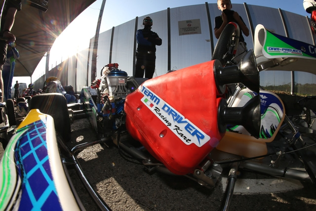 IL TEAM DRIVER CI RIPROVA ALLA WSK FINAL CUP.