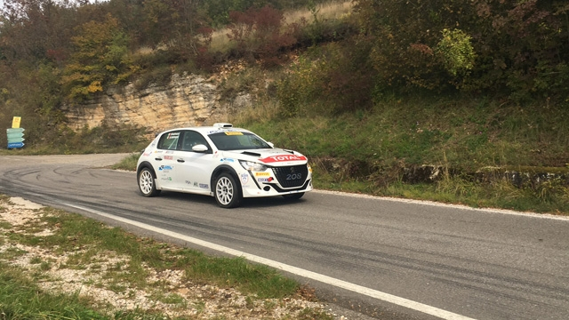 Paolo Andreucci e Anna Andreussi all'attacco del Rally Due Valli