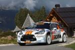 Tripletta per Pedersoli-Tomasi (Citroen DS3 WRC) nel Campionato Italiano WRC  al Rallye San Martino di Castrozza
